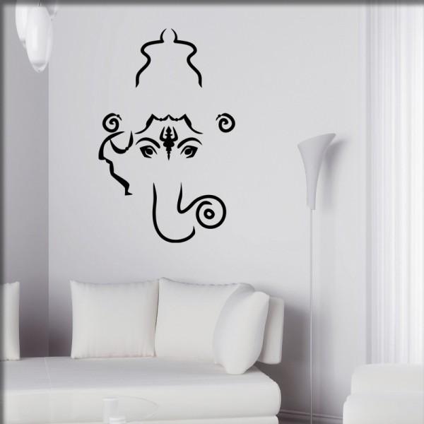 Wandtattoo Ganesha