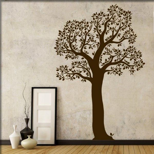 Wandtattoo Blätterbaum