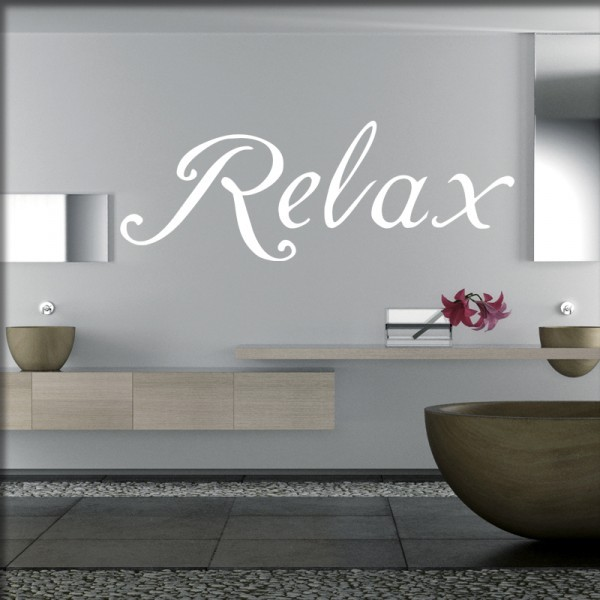 Wandtattoo Relax only