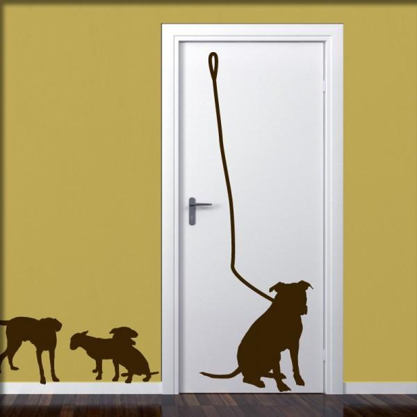 Wandtattoo Hunde