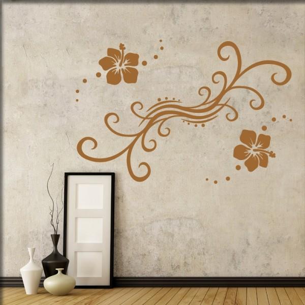 Wandtattoo Florales Design