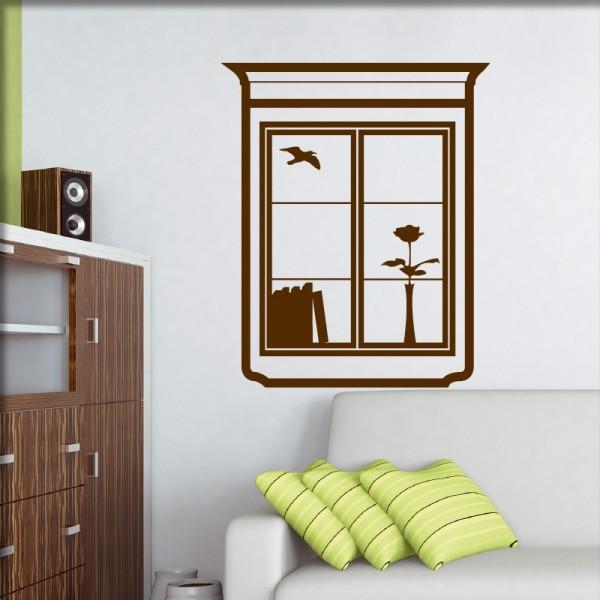 Wandtatto Fenster