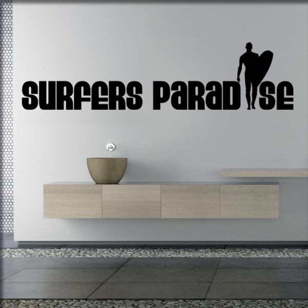 Wandtattoo Surfers Paradise