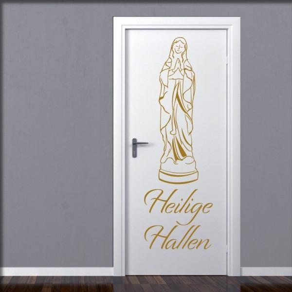 Wandtatoo Heilige Hallen