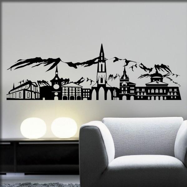 Wandtattoo Bern Skyline