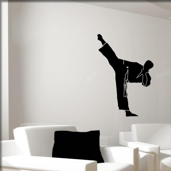 Wandtattoo Karate