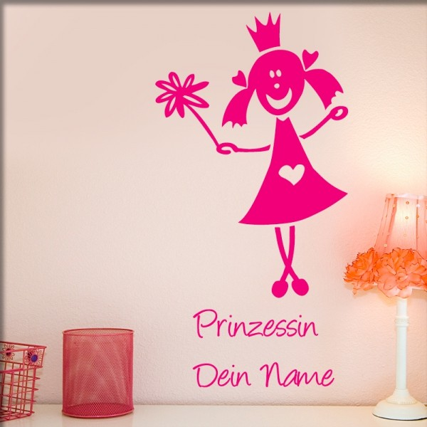 Wandtattoo Prinzessin Bo