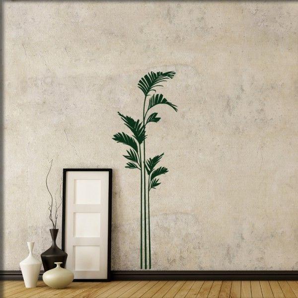 Wandtattoo Palmenblätter