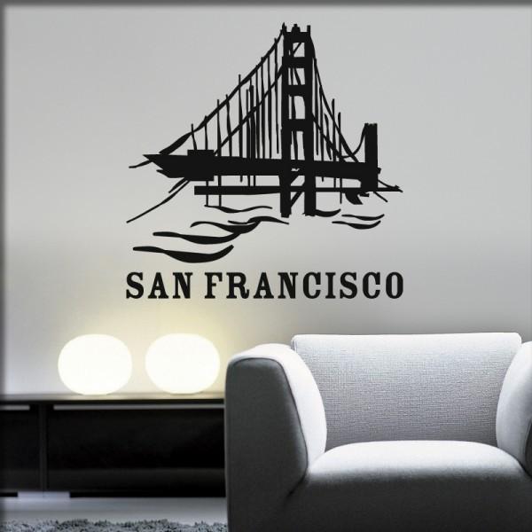 Wandtattoo Golden Gate Bridge