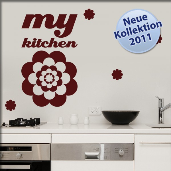 Wandtattoo my kitchen