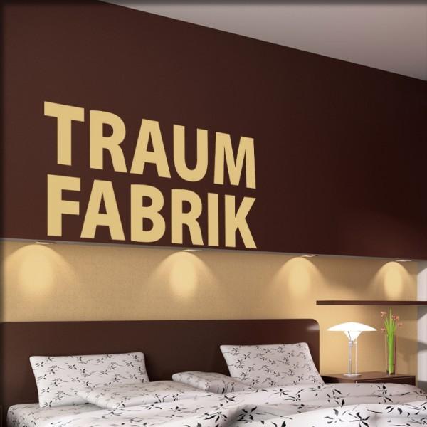 Wandtattoo Traumfabrik