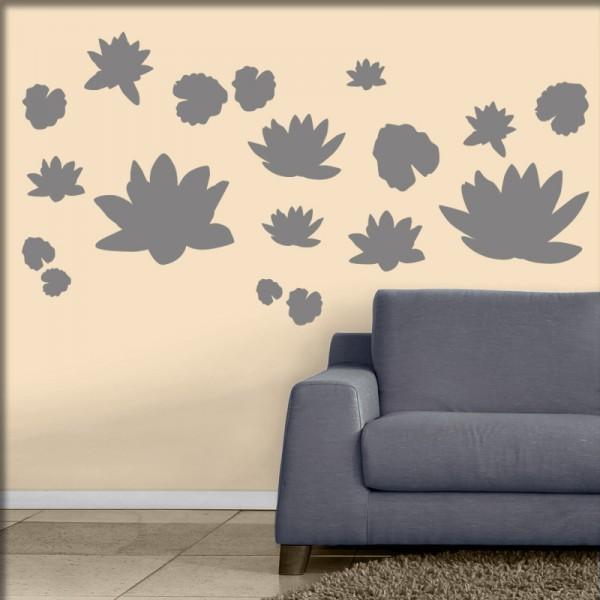 Wandtattoo Lotusblüte