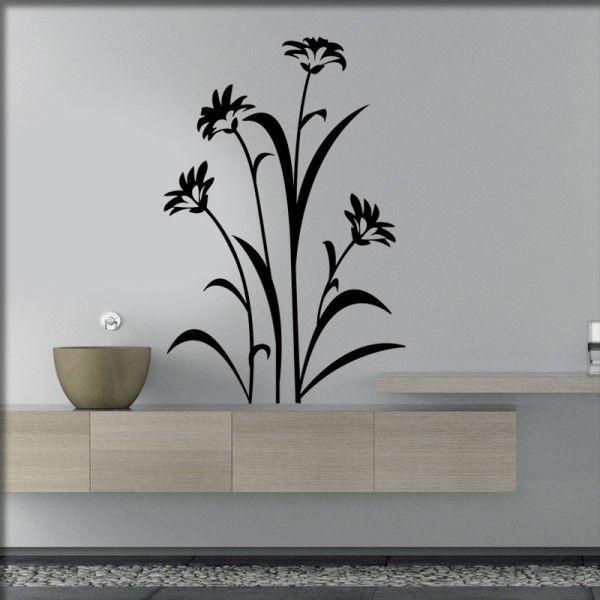 Wandtattoo Blumenstrauss