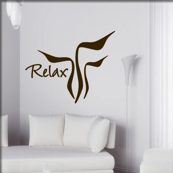 Wandtattoo Relax