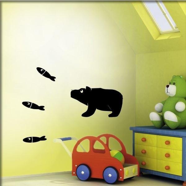 Wandtattoo Kleiner Bär