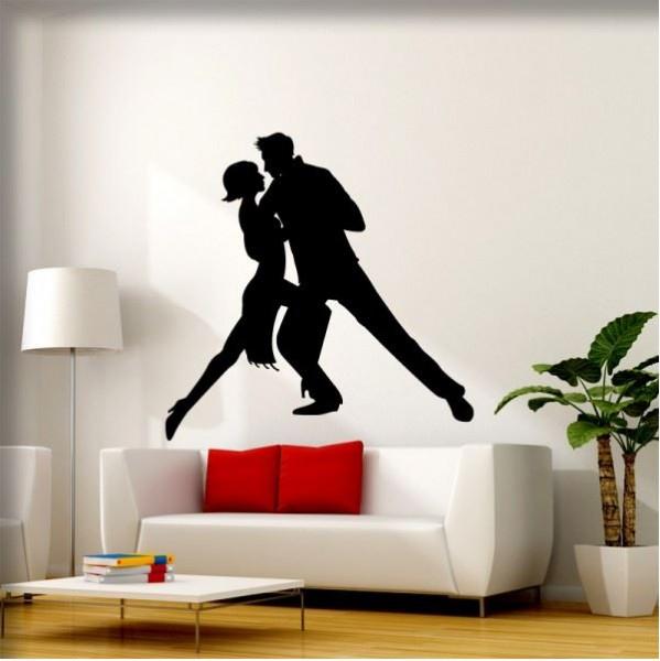 Wandtattoo Tango