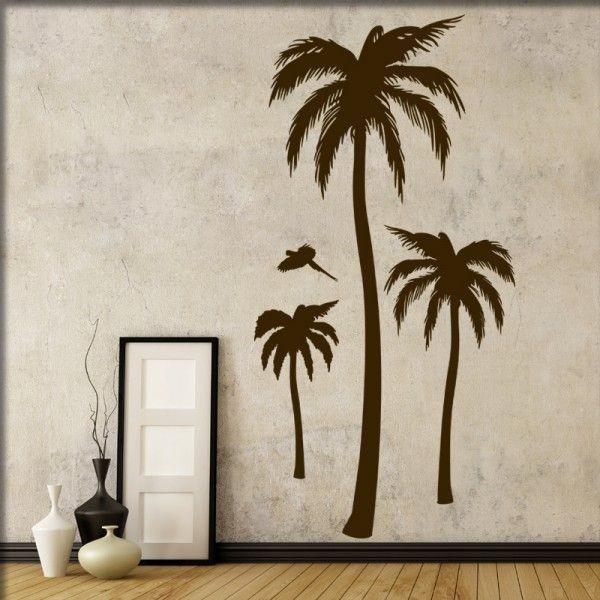 Wandtattoo Palmen