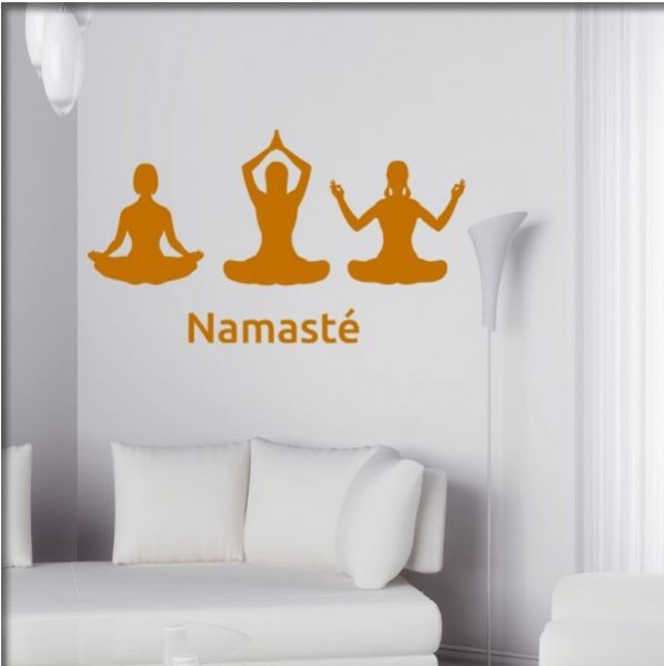 Wandtattoo Namaste