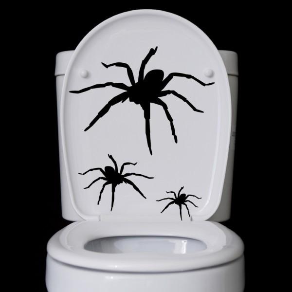 Wandtattoo Spinnen