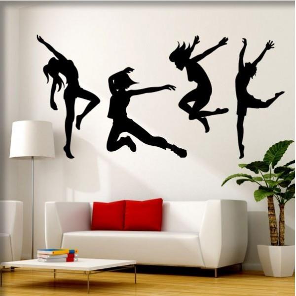 Wandtattoo Modern Dance