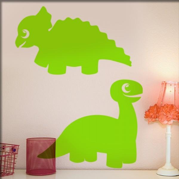 Wandtattoo DinoDuoSet 1